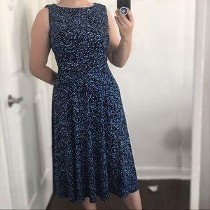 Dresses & Skirts - Black and blue floral dress